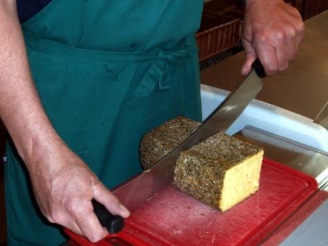b55 käse schneiden